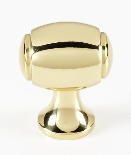 Royale Knob A981-18 - Polished Brass