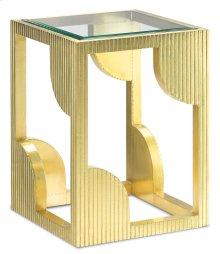 Morneau Brass Side Table