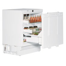 "24"" Under-worktop refrigerator for integrated use"