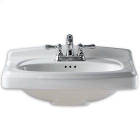 Portsmouth China Vanity Top - White