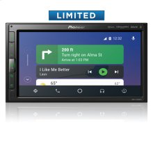 Modular 6.8'' Multimedia Receiver with Apple CarPlay , Android Auto , Built-in Bluetooth ® , SiriusXM-Ready , iDataLink ® Maestro , and Remote Control Included