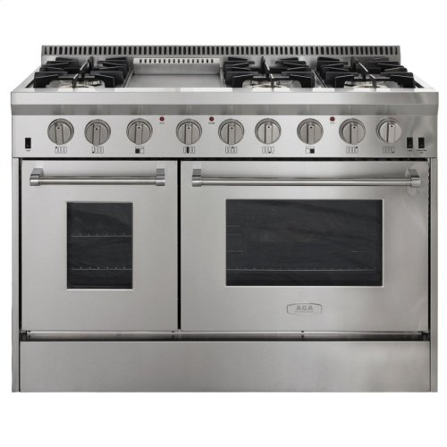 "48"" with Griddle AGA and Marvel > Feed"