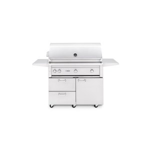 """42"""" Freestanding Grill with Trident Burner and Rotisserie (L42PSFR-2) - Liquid propane"""