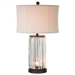 "24.75""H Table Lamp W/ Night Light"