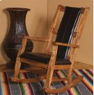 Sedona Rocker With Black Seat and Back Product Image