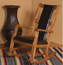 Sedona Rocker With Black Seat and Back