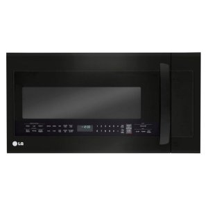 LG AppliancesLG Matte Black Stainless Steel 2.0 cu.ft. Over-the-Range Microwave Oven with EasyClean(R)