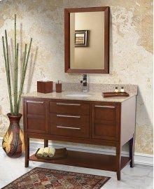 Aura Solid Wood Bathroom Vanity - 48 Inch