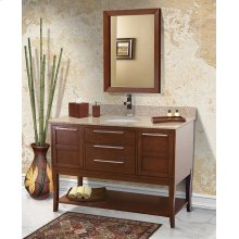 Aura Solid Wood Bathroom Vanity - 48 Inch