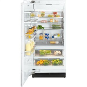 MieleK 1913 SF MasterCool refrigerator with high-quality features and maximum storage space for fresh food.