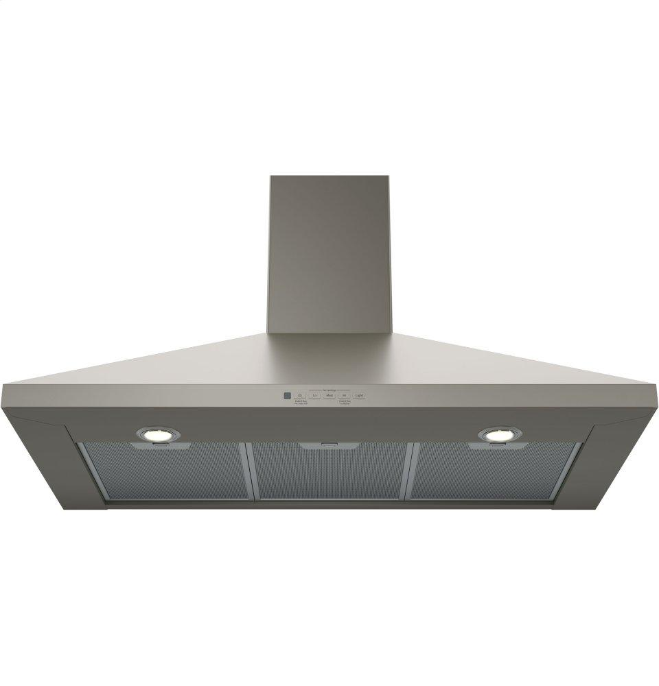 Jvw5361ejes Ge Profile Ge 174 36 Quot Wall Mount Pyramid Chimney