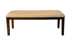 Upholstered Bench-Cashmere