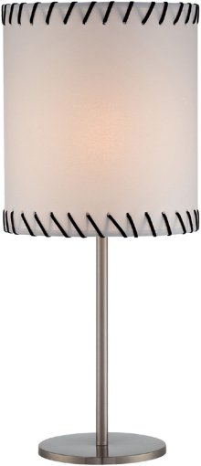 Table Lamp, Ps/paper Shade, E27 Cfl 13w