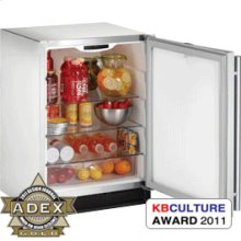 "Stainless Outdoor, left-hand Outdoor Series / 24"" Refrigerator"
