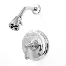 Pressure Balance Shower Set with Charlotte Handle (available as trim only)