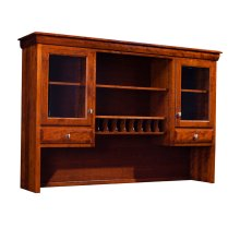 Colburn Hutch Top for Desk or Credenza, 63""