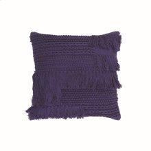 20X20 Hand Woven Bryn Pillow Navy