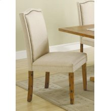 Parkins Traditional Rustic Amber Side Chair