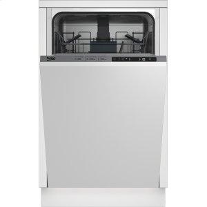 "Beko18"" Panel Ready Top Control Dishwasher, 5 Programs, 48 dBA"