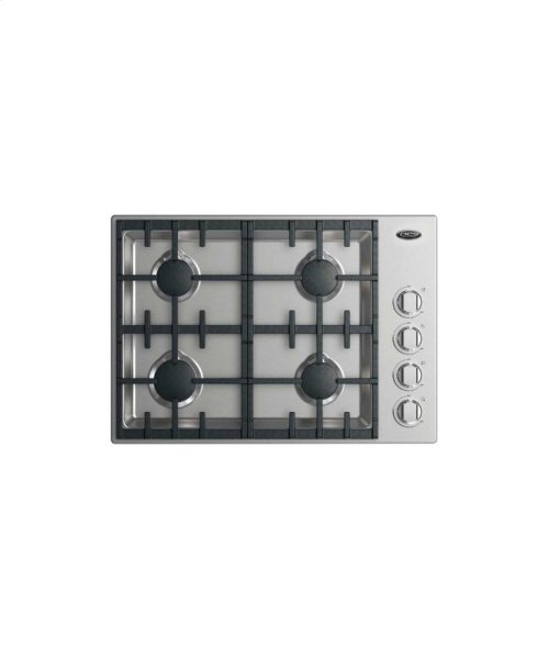 "30"" Drop-in Cooktop: 4 Burner"