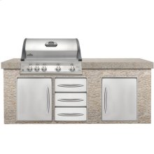 Built-in Grills BIM605RBI Mirage Series Built-in Grill- NG STAINLESS