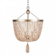 Pink Pearl Chandelier