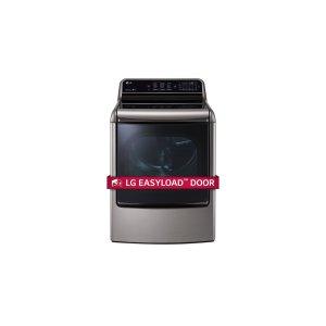 LG Appliances9.0 cu. ft. Mega Capacity TurboSteam Dryer with EasyLoad Door