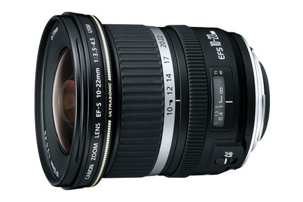 Canon EF-S 10-22mm f/3.5-4.5 USM Ultra-Wide Zoom Lens