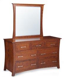 Loft Dresser Mirror, Large