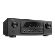 5.2 Channel Full 4K Ultra HD AV Receiver with built-in Bluetooth ® , HDCP 2.2, HDR, Auto Setup, Eco mode, BT Remote App, 5/1 HDMI In/Out