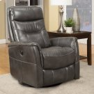 Gemini Flint Power Swivel Glider Recliner with Articulating Headrest and built-in battery pack Product Image