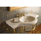 Renaissance Console Top Honed Carrara Marble Product Image