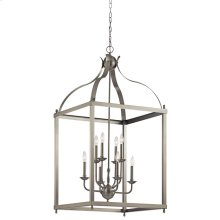 Larkin Collection Larkin 8 Light Foyer Pendant - Brushed Nickel NI