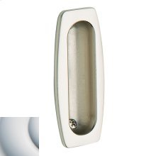 Satin Chrome Flush Pull