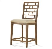Mirabelle Counter Height Stool Ecru finish