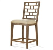 Mirabelle Counter Height Stool Ecru finish Product Image