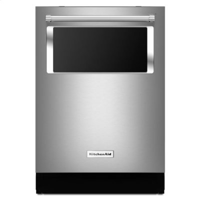 Stainless Steel KitchenAid® 44 dBA Dishwasher with Window and Lighted Interior Product Image