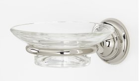 Charlie's Collection Soap Holder A6730 - Polished Nickel