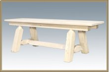 Homestead 6 Foot Plank Style Bench