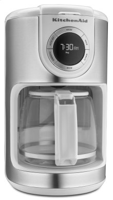 12 Cup Coffee Maker - White