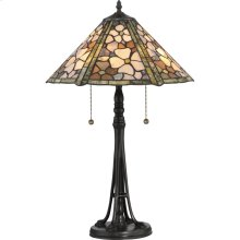 Jade Portable Table Lamp in Vintage Bronze
