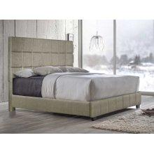 """Brooklyn King Bed, Sand 82""""x4""""x58"""""""