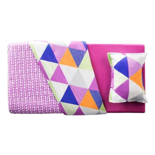 Brighton Bed Youth Gel Memory Foam Mattress - Twin Pink