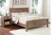 Alstad Bed - Queen, Pine Cone Finish Product Image