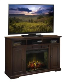 """Brentwood 64"""" Fireplace Console"""