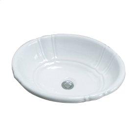 Lisbon Drop-In Basin - White