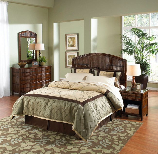 Tahiti 4 PC Queen Bedroom Set