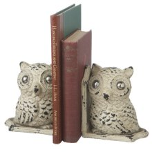 Owl Bookend Pair.