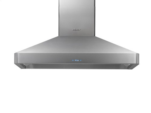 "Discovery 36"" Chimney Hood, wall-mounted in Stainless Steel"