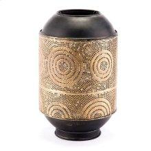 Espiral Candle Holder Sm Antique Gold